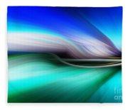 Abstract 0902 M Fleece Blanket