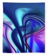Abstract 0902 N Fleece Blanket
