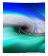 Abstract 0902 P Fleece Blanket