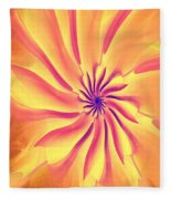 Abstract 090510 Fleece Blanket