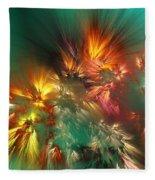 Abstract 090710a Fleece Blanket