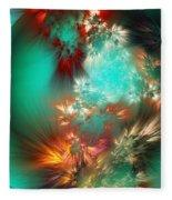 Abstract 090710b Fleece Blanket