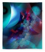 Abstract 0971711 Fleece Blanket
