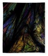 Abstract 10-08-09-1 Fleece Blanket