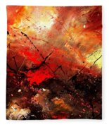 Abstract 100202 Fleece Blanket