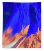 Abstract 10058 Fleece Blanket