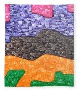 Abstract 102 Fleece Blanket
