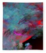 Abstract 102210 Fleece Blanket