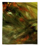Abstract 102910a Fleece Blanket