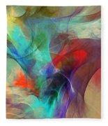 Abstract 103010 Fleece Blanket