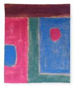 Abstract 109 Fleece Blanket