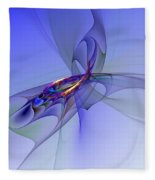 Abstract 110210 Fleece Blanket