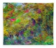 Abstract 111510 Fleece Blanket