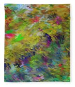 Abstract 111510 Fleece Blanket