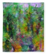 Abstract 111510a Fleece Blanket