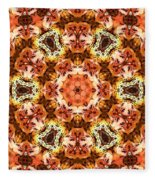 Abstract 120410 Fleece Blanket
