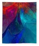 Abstract 120610 Fleece Blanket