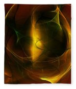 Abstract 120610a Fleece Blanket