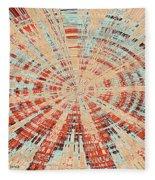 Abstract #149 Fleece Blanket