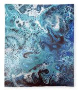 Abstract 1706301 Fleece Blanket
