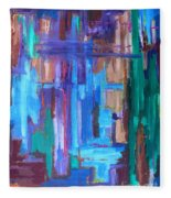 Abstract 20 Fleece Blanket