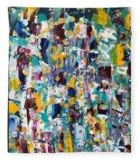 Abstract 2018-02 Fleece Blanket
