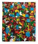 Abstract 2018-03 Fleece Blanket