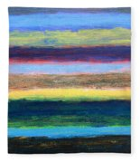Abstract 215 Fleece Blanket
