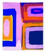 Abstract 223b Fleece Blanket