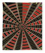 Abstract #2257-5 Fleece Blanket
