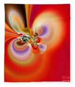 Abstract 239 Fleece Blanket
