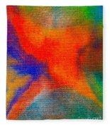 Abstract 3 Fleece Blanket