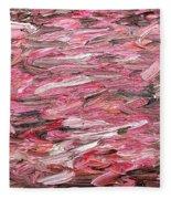 Abstract 313 Fleece Blanket