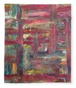 Abstract 403 Fleece Blanket