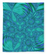 Abstract 404 Fleece Blanket