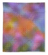 Abstract 405 Fleece Blanket