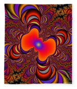 Abstract 41 Fleece Blanket