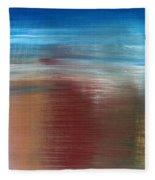 Abstract 422 Fleece Blanket