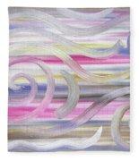 Abstract 436 Fleece Blanket