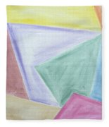 Abstract 437 Fleece Blanket