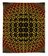 Abstract 442 Fleece Blanket