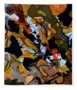 Abstract 446190 Fleece Blanket