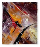 Abstract 45 Fleece Blanket
