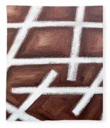 Abstract 459 Fleece Blanket