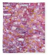Abstract 467 Fleece Blanket