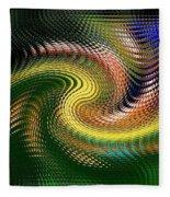 Abstract 47 Fleece Blanket