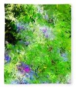 Abstract 5-26-09 Fleece Blanket