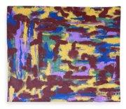 Abstract 50 Fleece Blanket