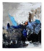Abstract 51703 Fleece Blanket
