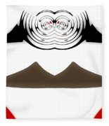 Abstract 54 Fleece Blanket